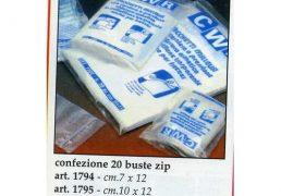 BUSTE ZIP CM.10X12 PZ.20