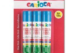 CARIOCA COLLA STICK GR.10 PZ.3 BLISTER