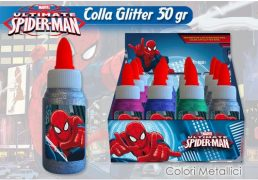 COLLA 50 GR GLITTER METALLICI SPIDERMAN