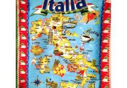 Canovaccio Italia 60x75cm 100% Cotone