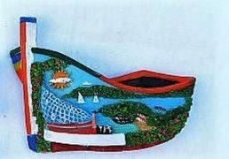 Magnete Resina Barca C/ved. Gen. Liguria 6