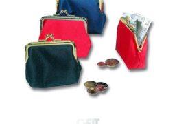 P/monete Mini-bag A Scatto Donna Col.