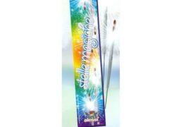 10 Stelle Magiche Cm.38 Pz.6  C.10          Effetto Scintille Oro