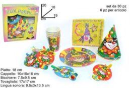 Box Party Clow 5 Art 30pz