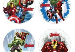 Dischi Cialda D.21 Avengers