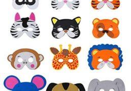 Maschere Animali Set 3pz 6ass
