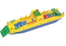 Nave Traghetto Grande 62x13x14cm