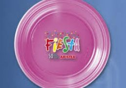 Piatti Dessert 50pz Fiesta Fucsia