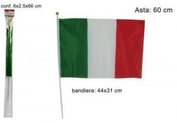 Bandierina Italia Semplice 31x44cm