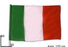 Bandiera Italia C/asta 60x90
