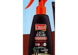 Delice Latte Solare Spray Sp30 Carota N.