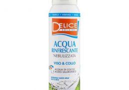 Delice Acqua Di Cocco Rinfrescante 125ml Nebulizzata Per Viso E Collo